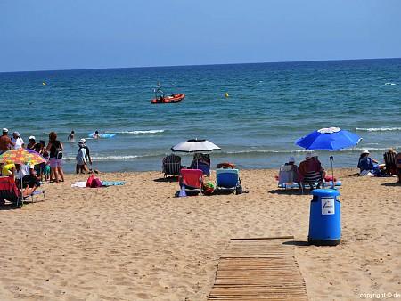 Les plages de Dénia arborent des drapeaux bleus